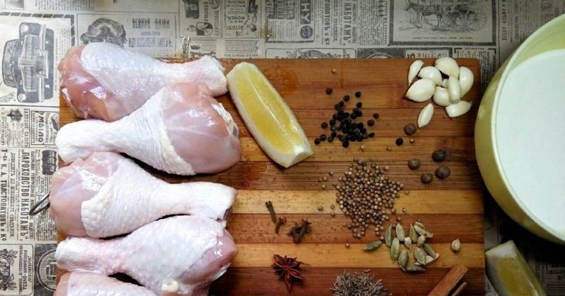 Какие специи подходят к курице