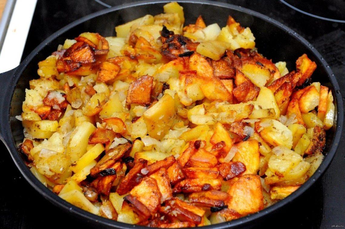 Какие специи добавляют в жареную картошку
