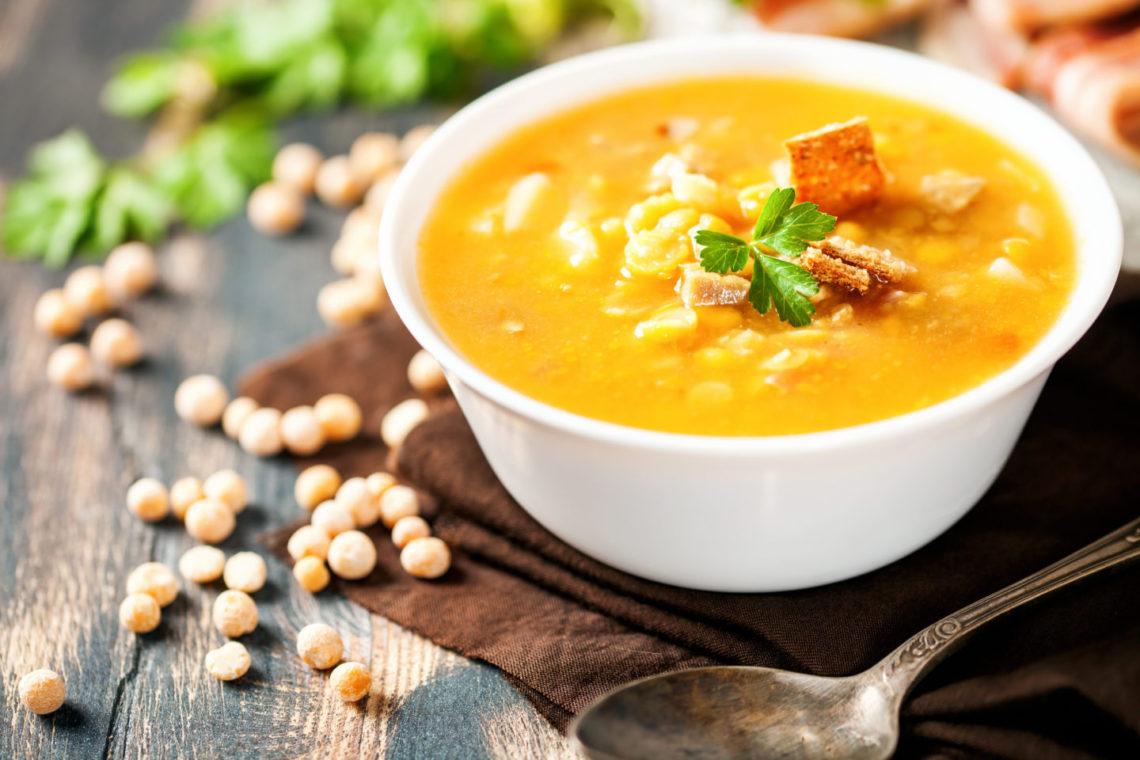 Какие специи добавляют в гороховый суп