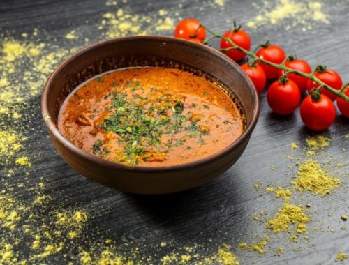 специи добавляют в тыквенный суп